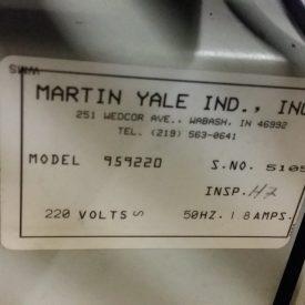 Martin Yale 959 Autofolder, 5105 (3)
