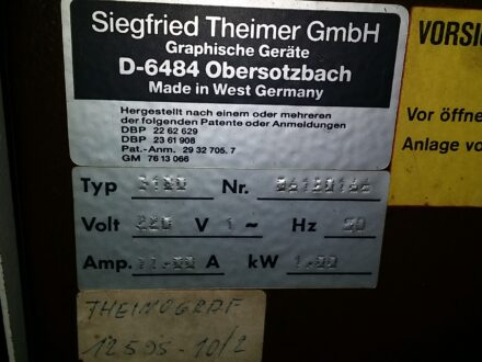 Theimer Multimat O 64