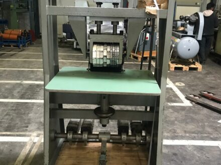 Punching & Numbering machine