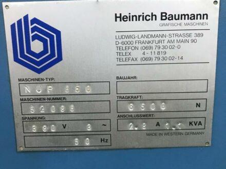 Baumann Nup 650
