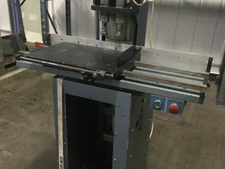 2 Heads Paper Drilling Machine