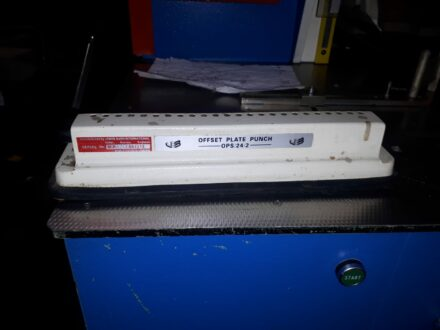 Offset Plate Punch OPS-24-2