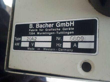 Bacher 2042