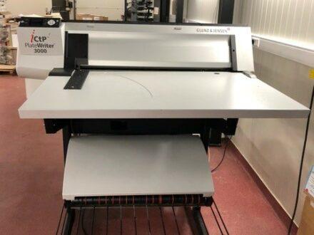 Glunz & Jensen iCtP Platewriter3000